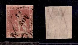 0110 ANTICHI STATI - TOSCANA - 1857 - 1 Crazia (12) - Ottimi Margini (1.400) - Stamps
