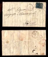0116 ANTICHI STATI - TOSCANA - 6 Crazie (15) - Lettera Per Milano Del 20.6.59 (1.800) - Stamps