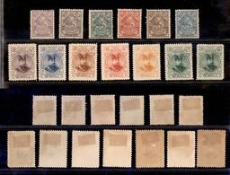 0753 OLTREMARE - IRAN - 1903/1904 - Sham Muzaffar (185/197) - Serie Completa - 13 Valori Nuovi Con Gomma (600) - Stamps