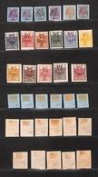 0754 OLTREMARE - IRAN - 1909/1910 - Sham Mohammed Ali (272/283) - Serie Completa - 17 Valori Nuovi Con Gomma (2.500) - Stamps
