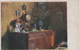 Künstlerkarte AK Rudolf R. Konopa Gem. Aus Vergangenen Tagen Art Malerei Wiener Kunst Wien Österreich Austria Autriche - Künstlerkarten