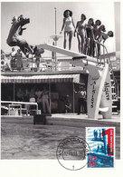 D34135 CARTE MAXIMUM CARD FD 2013 NETHERLANDS - SWIMMING DIVING BOARD CP ORIGINAL - Swimming