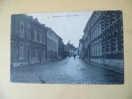 Waremme. Rue De Huy. Cachet Poste De 1920 - Waremme