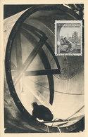 D34142 CARTE MAXIMUM CARD 1952 CZECHOSLOVAKIA - STEEL CONSTRUCTION WELDING CP PHOTOCARD - Jobs