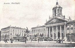 Bruxelles - CPA - Brussel - Pace Royale - Chocolat Hardy - Marktpleinen, Pleinen