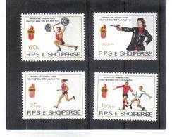 OST1425 ALBANIEN 1985  MICHL 2250/53 Postfrisch SIEHE ABBILDUNG - Albanien