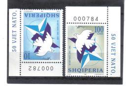 OST1430 ALBANIEN 1999  MICHL 2683/84 Postfrisch SIEHE ABBILDUNG - Albanien
