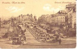Bruxelles - CPA - Brussel - Mont Des Arts - Bossen, Parken, Tuinen