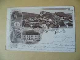 Gruss Aus Fels. Cachet Poste De 1898. Larochette - Cartes Postales
