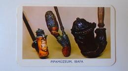AV451.31 Tobacco Pipe Museum  IBAFA  Calendrier De Poche - Hongrie - Pocket Calendar  -Hungary 1980 - Calendars