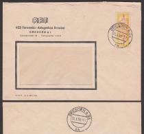 DRESDEN A24 ZKD B16M Ortsbrief RFT Fernmelde-Anlagenbau 21.3.58 - [6] Oost-Duitsland