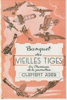 """AVIATION : """" LES VIELLES TIGES """" . PIONNIERS . ARCHIVES DE Mr LEGENTIL . ENVIRON 150 SIGNATURES . - Autographes"""