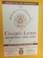 8371 - Château Laurès 1982 - Bordeaux