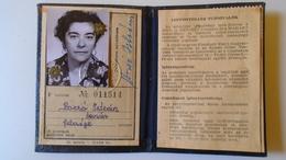 DEL004.2 Permis Ferroviaire -Railway Permit - MÁV Hungary  1970-80's  - Tax Stamp - Transportation Tickets