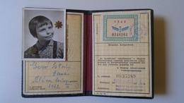 DEL004.5 Permis Ferroviaire -Railway Permit - MÁV Hungary  1960's  - Tax Stamp - Transportation Tickets