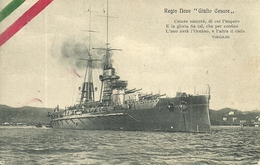 "Regia Marina Militare Italiana, Regia Nave Corazzata ""Giulio Cesare"" - Guerra"