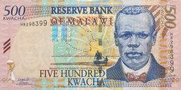 Malawi 500 Kwacha, P-48a  2001 UNC - Malawi