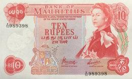 Mauritius 10 Rupees, P-31c 1967 - Mauritius
