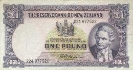 New Zealand 1 Pounds, P-159d - Nouvelle-Zélande