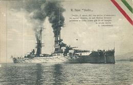 """Regia Marina Militare Italiana, Regia Nave """"Caio Duilio"""" - Guerra"""