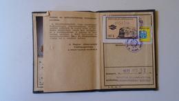 DEL004.8  Permis Ferroviaire -Railway Permit - MÁV Hungary  1970's  - Tax Stamp - Transportation Tickets
