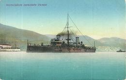 "Regia Marina Militare Italiana, Regia Nave ""Varese"", Incrociatore Corazzato - Guerra"