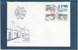 Portugal - Enveloppe Premier Jour - Monuments - Architecture - FDC