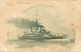 "Regia Marina Militare Italiana, Regia Nave Corazzata Da Battaglia Di 1^ Classe ""Sicilia"" - Guerra"