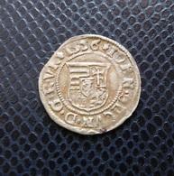 HUNGARY / II.SZAPOLYAI JÁNOS ZSIGMOND - IOHAN II.ZAPOLYA (1540-1571) SILVER DENAR / 1556 N-P - Hungary