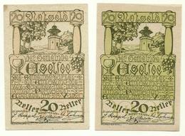 1920 - Austria - Egelfee Notgeld N33, - Austria