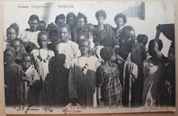 SENEGAL SAINT-LOUIS PENEL UN GROUPE D'INDIGENES MAURES ET SENEGALAIS - Senegal