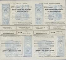 Timbre De Franchise Militaire FM Bloc De 4 Pour Colis Tête Beche YT 14A 3 Lignes Franchise Postale - Franchise Stamps