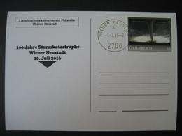 Österreich- Pers.BM Wiener Neustadt 10. Juli 2016, 100 Jahre Sturmkatastrophe - Österreich