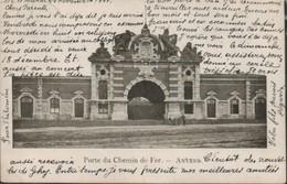 Anvers Porte Du Chemin De Fer - Stations Without Trains