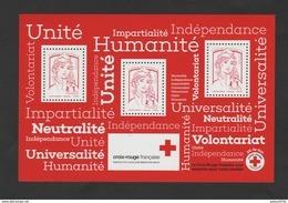"""FRANCE / 2017 / Y&T BF N° 140 ** : """"Messages De La Croix-Rouge"""" - Gomme D'origine Intacte - Bloc De Notas & Hojas"""