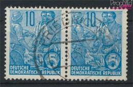 DDR 578B WP Waagerechtes Paar Aus Bogen Bedarfsstempel Gestempelt 1957 Fünfjahresplan (9188036 - DDR