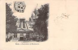 75 - Paris - Funiculaire De Montmartre - Transport Urbain En Surface