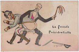 La Fessée Présidentielle (J. Charmel)  (CPA) - Unclassified