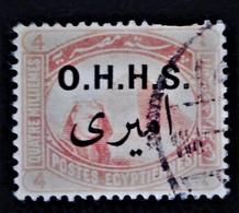 SURCHARGES 1915 - OBLITERE - YT 12 - COULEUR PALE - Service