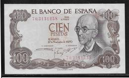 Espagne - 100 Pesetas - Pick N°152 - NEUF - [ 3] 1936-1975 : Régence De Franco