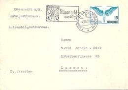 "Sonderstempel  ""Küssnacht Am Rigi - Hohle Gasse""            1938 - Lettres & Documents"