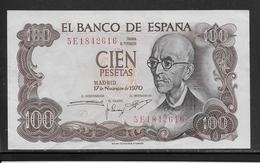 Espagne - 100 Pesetas - Pick N°152 - SPL - 100 Pesetas