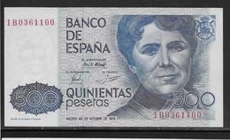 Espagne - 500 Pesetas - Pick N°157 - SPL - [ 4] 1975-… : Juan Carlos I