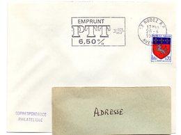 AVEYRON - Dépt N° 12 = RODEZ RP 1968 = Flamme Codée = SECAP Illustrée  = EMPRUNT PTT 6,50% - Marcophilie (Lettres)