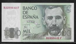 Espagne - 1000 Pesetas - Pick N°158 - NEUF - [ 4] 1975-… : Juan Carlos I