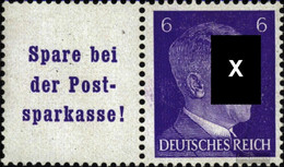 German Empire W154 With Hinge 1941 Hitler - Germany