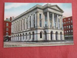 Post Office  Portland     Maine >  Ref 2971 - Portland