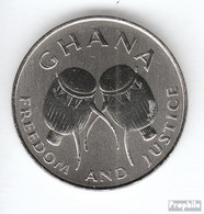Ghana KM-Nr. : 31 1999 Vorzüglich Stahl 1999 50 Cedis Trommeln - Ghana