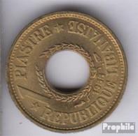 Libanon KM.-Nr.: 19 1955 Vorzüglich Aluminium-Bronze Vorzüglich 1955 1 Piaster - Libanon