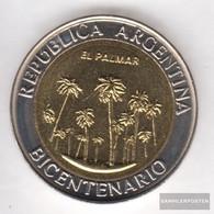 Argentina Km-number. : 156 2010 Stgl./unzirkuliert Bi-Metallic Aluminum-Bronze Stgl./unzirkuliert 2010 1 Peso El Palmar - Argentina